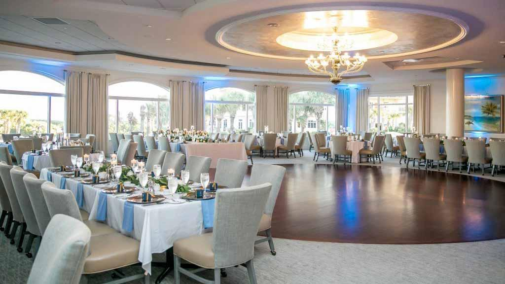 Located in Palm Coast, Florida, our Creek Course Clubhouse can also serve as a beach and country club banquet venue for your event  - also adjacent to the Intracoastal Waterway and next to the golf course.